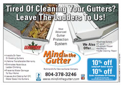 Tired of Cleaning your Gutters?